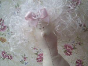 Видео мастер-класс: как сделать волосы кукле Тильде из атласных лент. Ярмарка Мастеров - ручная работа, handmade.