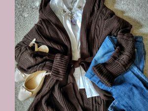 Кардиган- самая универсальная вещь в гардеробе. Ярмарка Мастеров - ручная работа, handmade.