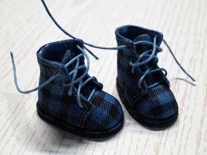 Шьём текстильные ботиночки для куклы. Часть 2. Ярмарка Мастеров - ручная работа, handmade.
