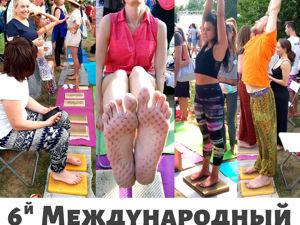 Yogadesc на фестивале Yoga Day Russia 2020 !!. Ярмарка Мастеров - ручная работа, handmade.