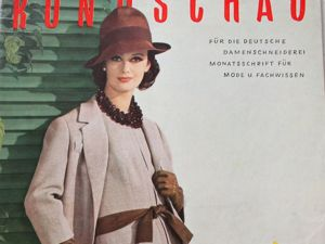 Rundschau  —  журнал для швеи  -Март  1961. Ярмарка Мастеров - ручная работа, handmade.