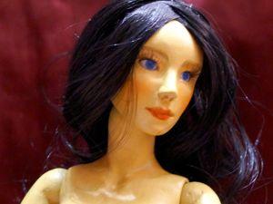 Шарнирная кукла девушка. Ярмарка Мастеров - ручная работа, handmade.