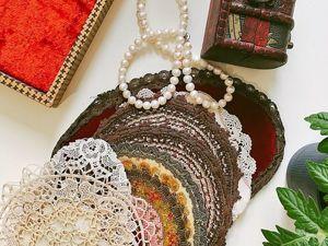 Коллекция антикварных шедевров в старинной шкатулке!!!. Ярмарка Мастеров - ручная работа, handmade.