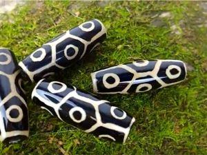 Тибетская бусина дзи 9 глаз свойства и значение как носить. Ярмарка Мастеров - ручная работа, handmade.