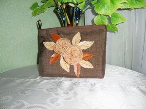 Простая идея подарка на 8 марта: шьем косметичку. Ярмарка Мастеров - ручная работа, handmade.