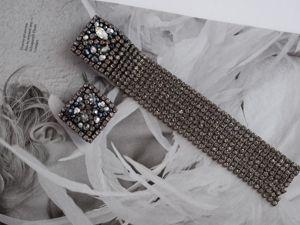 Видео асимметричные серьги Black diamond. Ярмарка Мастеров - ручная работа, handmade.