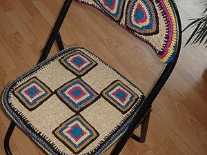 Второе рождение старого стула!. Ярмарка Мастеров - ручная работа, handmade.