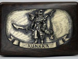 Dota 2 шкатулка резная Kunkka. Ярмарка Мастеров - ручная работа, handmade.