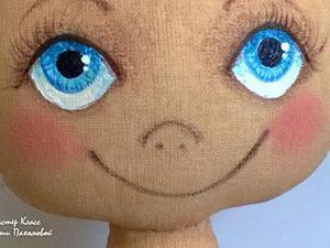 Учимся оживлять текстильную куклу: роспись лица. Ярмарка Мастеров - ручная работа, handmade.