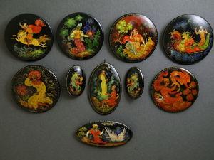 Коллекция Палех. Часть 3. Ярмарка Мастеров - ручная работа, handmade.