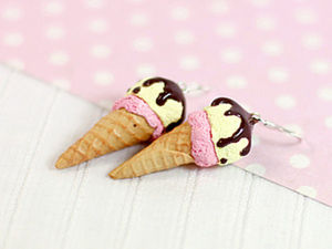 How to Model an Ice-Cream of Polymer Clay. Livemaster - handmade