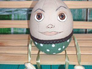 Шьем забавную игрушку Шалтай-Болтай. Ярмарка Мастеров - ручная работа, handmade.