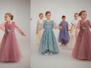 Моя маленькая леди Детская коллекция фатиновых платьев. Ярмарка Мастеров - ручная работа, handmade.