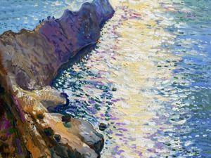 Мечтаешь о море? Новый морской пейзаж. Ярмарка Мастеров - ручная работа, handmade.