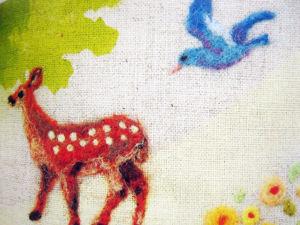 Японская книжка  «Вышивка войлоком». Ярмарка Мастеров - ручная работа, handmade.