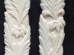 Мастер-класс по изготовлению резной флешки из кости и дерева. Ярмарка Мастеров - ручная работа, handmade.