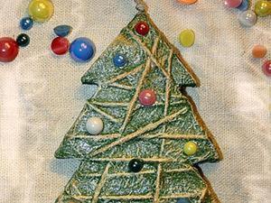 Превращаем картон в новогоднее украшение. Ярмарка Мастеров - ручная работа, handmade.