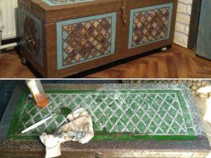 Реставрируем интересный старый сундук. Ярмарка Мастеров - ручная работа, handmade.