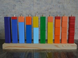 Деревянная игрушка Монтессори ,, Подсчет стека,,. Ярмарка Мастеров - ручная работа, handmade.