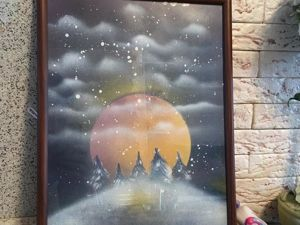 Spray Art Tutorial. Livemaster - handmade