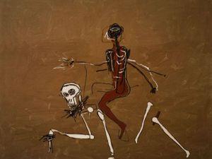 Баския. Верхом на смерти. 1988 г. Ярмарка Мастеров - ручная работа, handmade.