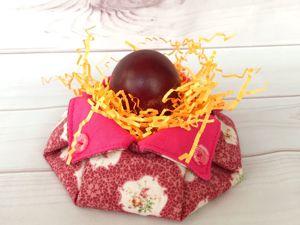 Шьём пасхальную текстильную корзинку. Ярмарка Мастеров - ручная работа, handmade.