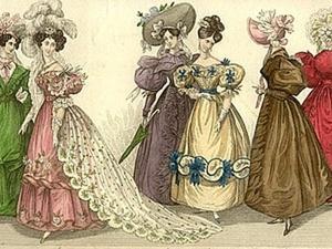 1830-е г. Шляпки, сумочки и прочая галантерея. Ярмарка Мастеров - ручная работа, handmade.