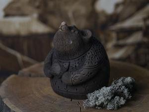Медведь – Семейный Оберег, Хранитель Дома. Ярмарка Мастеров - ручная работа, handmade.