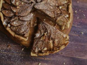 Яблочный пирог с корицей. Ярмарка Мастеров - ручная работа, handmade.