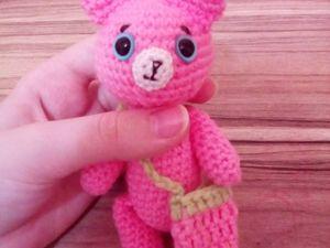 Мастерим игрушку «Мишка земляничка». Ярмарка Мастеров - ручная работа, handmade.