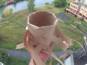 Создаем бумажный туесок из восьми лычек. Ярмарка Мастеров - ручная работа, handmade.