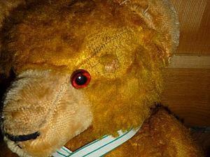 """Проект """"Реставрация медведя Винни"""". Часть 1: Следствие по телу. Ярмарка Мастеров - ручная работа, handmade."""