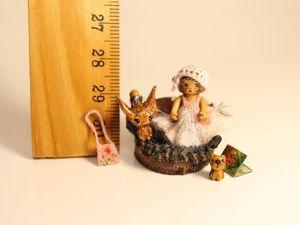 Сделала ещё одну малышечку из дерева. Лика. Ярмарка Мастеров - ручная работа, handmade.