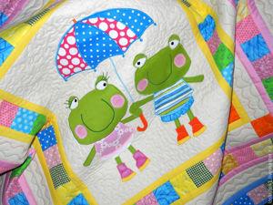 Уютный пэчворк для детей. Ярмарка Мастеров - ручная работа, handmade.