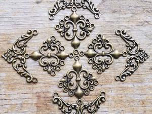 Узоры из нашей фурнитуры для вдохновения. Ярмарка Мастеров - ручная работа, handmade.