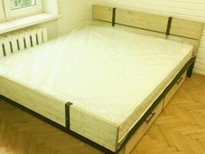 Что нужно знать о ящиках у кровати в стиле Лофт. Ярмарка Мастеров - ручная работа, handmade.