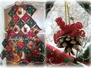 Шьем новогоднюю ёлку из подушечек. Ярмарка Мастеров - ручная работа, handmade.