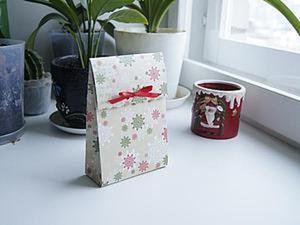 Делаем пакетик для новогодних подарков. Ярмарка Мастеров - ручная работа, handmade.