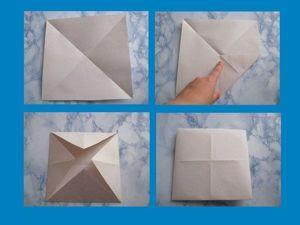 Творим с детьми: создаем сказку из бумажного квадрата. Ярмарка Мастеров - ручная работа, handmade.