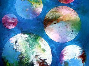 Выплескиваем эмоции с помощью красок. Ярмарка Мастеров - ручная работа, handmade.