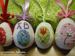 "Мастер-класс ""Пасхальные яйца"". Ярмарка Мастеров - ручная работа, handmade."