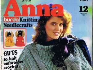Anna, № 12/1983 г. Фото работ. Ярмарка Мастеров - ручная работа, handmade.