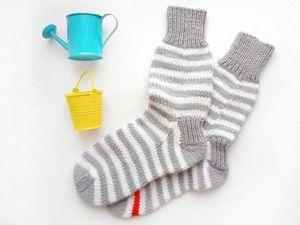 5 методов вязания носков. Ярмарка Мастеров - ручная работа, handmade.