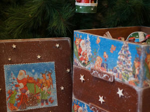 Набор елочных игрушек  «Кругосветное путешествие...». Ярмарка Мастеров - ручная работа, handmade.