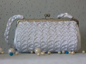 Роскошная сумочка невесты своими руками. Ярмарка Мастеров - ручная работа, handmade.