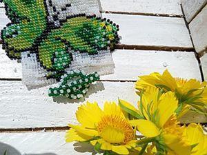 Как сделать тогл, или Замочек для украшений из бисера. Ярмарка Мастеров - ручная работа, handmade.
