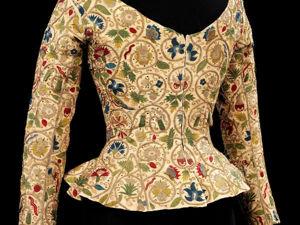 Изысканная вышивка на жакетах XVII века. Англия. Ярмарка Мастеров - ручная работа, handmade.