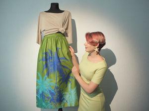 Шьем юбку на резинке. Ярмарка Мастеров - ручная работа, handmade.