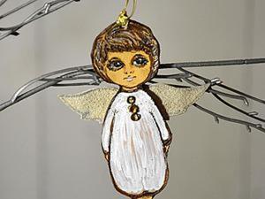 Создаем силуэтную фигурку из кожи «Мой светлый ангел». Ярмарка Мастеров - ручная работа, handmade.