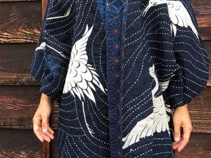 Японский пэчворк и сашико. Ярмарка Мастеров - ручная работа, handmade.